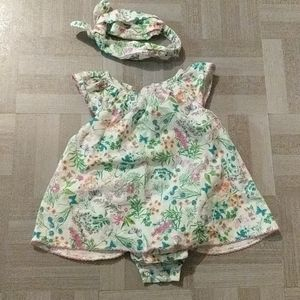 Baby Onsie/Dress size 6-9 mo